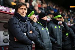 12th February 2017 - Premier League - Burnley v Chelsea - Chelsea manager Antonio Conte - Photo: Simon Stacpoole / Offside.