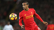 Joel Matip of Liverpool during the Premier League match at Anfield Stadium, Liverpool. Picture date: December 11th, 2016.Photo credit should read: Lynne Cameron/Sportimage