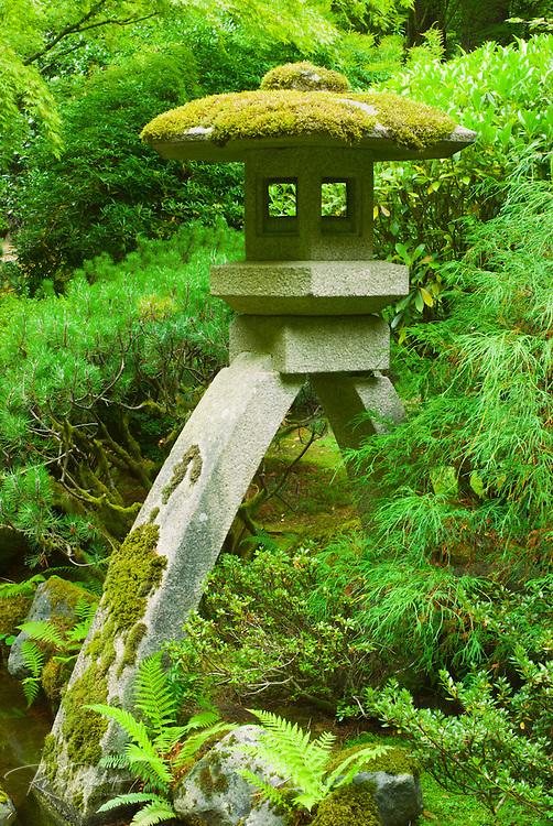 Pagoda at the Japanese Garden, Portland, Oregon