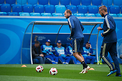 July 2, 2018 - St Petersburg, RUSSIA - 180702 Andreas Granqvist of the Swedish national football team at a practice session during the FIFA World Cup on July 2, 2018 in St Petersburg..Photo: Joel Marklund / BILDBYRN / kod JM / 87743 (Credit Image: © Joel Marklund/Bildbyran via ZUMA Press)