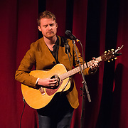 Ethan Gruska opens for Ray LaMontagne at The Music Hall in Portsmouth, NH. Oct 2017