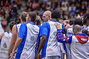 Team Banco di Sardegna Dinamo Sassari<br /> Dinamo Banco di Sardegna Sassari - Consultinvest Victoria Libertas Pesaro<br /> Lega Basket Seire A 2016/2017<br /> Sassari 30/10/2016<br /> Foto Ciamillo-Castoria