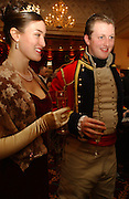 Cassandra Doran Jones and Alexander Weil. The St. Petersburg Ball, In aid of the Children's Fire and Burn Trust-Russia 2005.  The Cafe Royal. 3 February 2006. -DO NOT ARCHIVE-© Copyright Photograph by Dafydd Jones 66 Stockwell Park Rd. London SW9 0DA Tel 020 7733 0108 www.dafjones.com