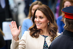 The Duchess of Cambridge attending the Commonwealth Big Lunch at St Luke's Community Centre, London. Picture date: Thursday March 22nd, 2018. Photo credit should read: Matt Crossick/ EMPICS Entertainment.