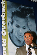 28 August 2006: Toni DiCicco presents 2006 inductee Carla Overbeck (not pictured). The National Soccer Hall of Fame Induction Ceremony was held at the National Soccer Hall of Fame in Oneonta, New York.