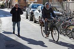 NICOLA NAOMO LODI E CIRIACO MINICHIELLO<br /> FERRARA, 05-02-2020. PROTESTA SIT IN PROCESSO NICOLA NAOMO LODI