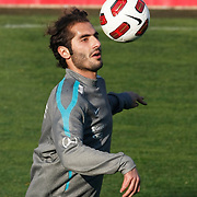 Turkey's national soccer team players Hamit ALTINTOP during their a training session in Istanbul March 25, 2011. Turkey will face Austria in the UEFA Euro 2012 qualification soccer match on 29 March 2011.  Photo by TURKPIX
