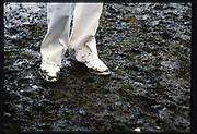 Henley, Great Britain, Mud Fest, Stewards  1988 Henley Royal Regatta, Henley Reach, River Thames, Annual Event. [Mandatory credit: Peter Spurrier/Intersport Images]