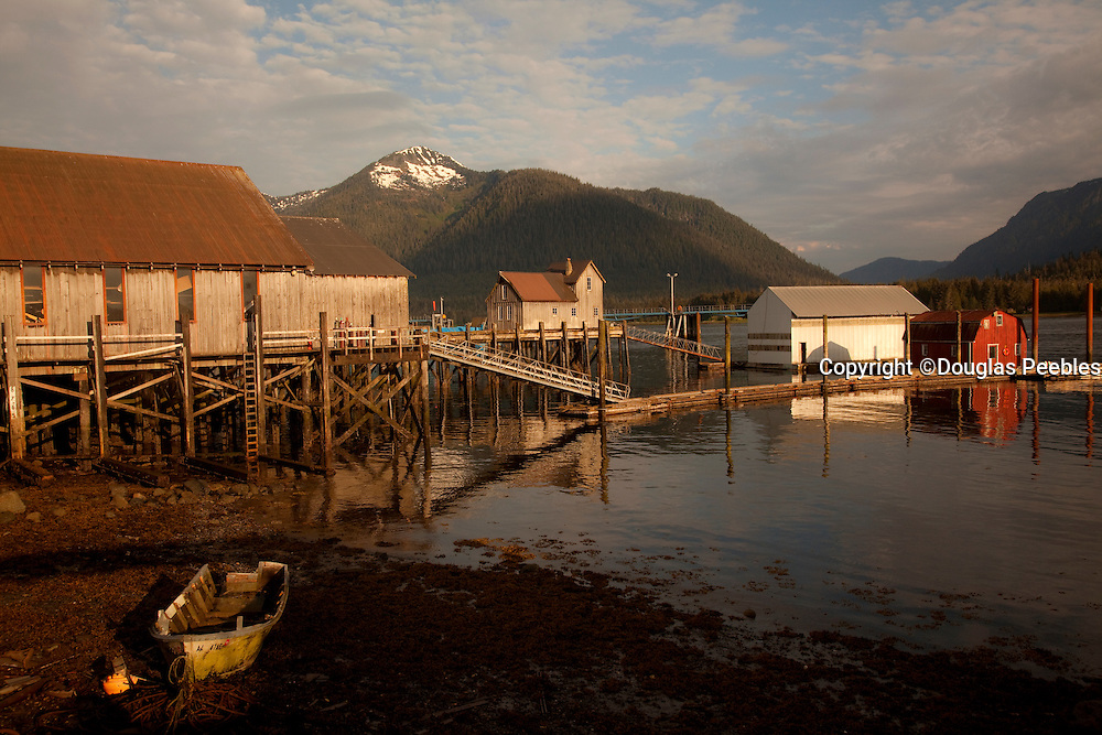 Old docks, Petersburg, Alaska