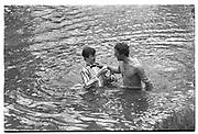JULIAN ALISON, ( left ) May morning, 1983