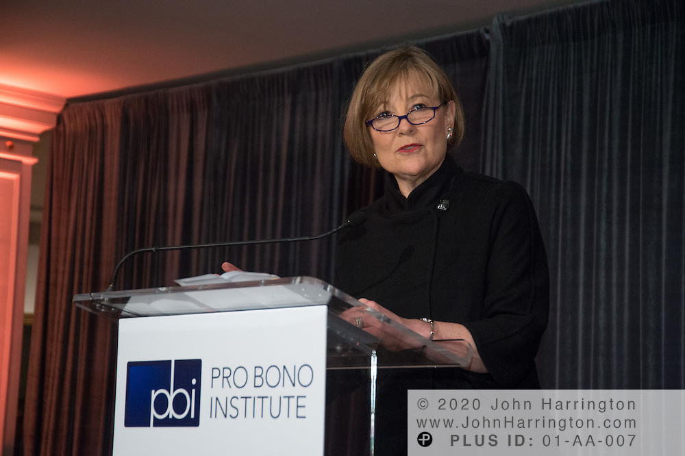 The Pro Bono Institute's Annual Conference Reception at the Museum of Women in the Arts featuring an award presentation of the 2012 Laurie D. Zelon Pro Bono Award to Jane Sherburne and BNY Mellon's legal department and an address by Justice Ruth Bader Ginsburg on March 29th, 2012 in Washington, DC.