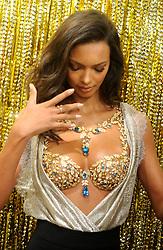 Victoria's Secret Angel Lais Ribeiro unveils Victoria's Secret 2 million dollar 2017 Champagne Night Fantasy Bra in New York City, NY, USA. Photo by Dennis van Tine/ABACAPRESS.COM