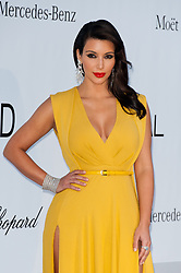Kim Kardashian arriving at the 2012 amfAR's Cinema Against AIDS during the 65th Annual Cannes Film Festival at Hotel Du Cap on May 24, 2012 in Cap D'Antibes, France. Photo by Genin-Guignebourg/ABACAPRESS.COM  | 401438_196 Antibes France