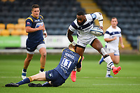 Rugby Union - 2019 / 2020 Gallagher Premiership - Worcester Warriors vs Bristol Bears<br /> <br /> Bristol Bears' Semi Radradra is tackled by Worcester Warriors' Noah Heward, at Sixways.<br /> <br /> COLORSPORT/ASHLEY WESTERN