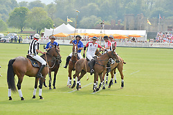 Polo at the St.Regis International Polo Cup at Cowdray Park, Midhurst, West Sussex on 17th May 2014.
