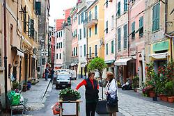 Street Vendor, Vernazza Village, Cinque Terra, UNESCO World Heritage Site, Italy