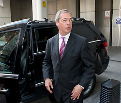 NIgel Farage leader of the UKIP Party, Terry Gilliam, Jimmy Wales & Paddy Ashdown arriving for the Andrew Marr show<br /> Title:NIgel Farage leader of the UKIP Party, Terry Gilliam & Paddy Ashdown arriving for the Andrew Marr show