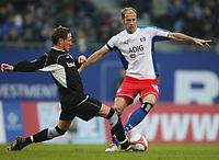 v.l. Michael Fink, Sergej Barbarez HSV <br />Bundesliga Hamburger SV - Arminia Bielefeld