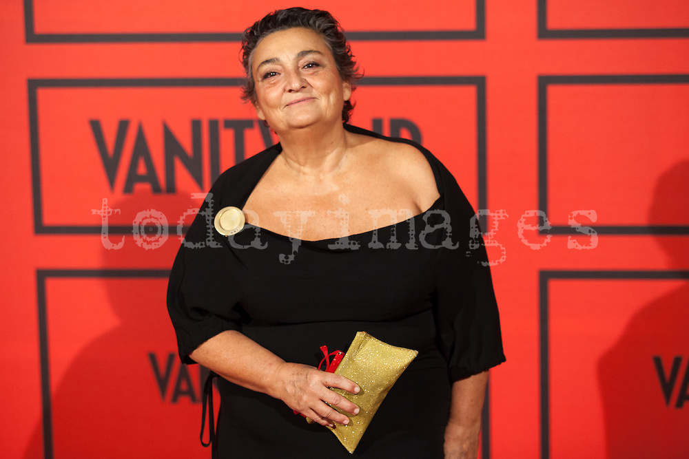 Elena Benarroch during the photocall of Vanity Fair 5th Anniversary party In Madrid