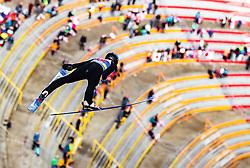 24.02.2019, Bergiselschanze, Innsbruck, AUT, FIS Weltmeisterschaften Ski Nordisch, Seefeld 2019, Nordischen Kombination, Teambewerb, Skisprung, Wertungssprung, im Bild Jan Schmid (NOR) // Jan Schmid of Norway during the skijump for the team competition Nordic Combined of FIS Nordic Ski World Championships 2019. Bergiselschanze in Innsbruck, Austria on 2019/02/24. EXPA Pictures © 2019, PhotoCredit: EXPA/ JFK