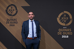 March 19, 2018 - Lisbon, Lisbon, Portugal - SL Benfica's coach Joel Rocha poses on arrival at 'Quinas de Ouro' 2018 ceremony held and the Pavilhao Carlos Lopes in Lisbon, on March 19, 2018. (Credit Image: © Dpi/NurPhoto via ZUMA Press)