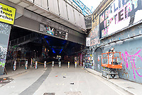 Leake Street Arches is London's largest legal street art area.photo by mark anton smith
