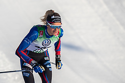 November 16, 2018 - Bruksvallarna, SVERIGE - 181116 Frida Karlsson, SollefteÃ¥ Skidor IF, under skidloppet över 5 km fristil den 16 november 2018 i Bruksvallarna  (Credit Image: © Johan Axelsson/Bildbyran via ZUMA Press)