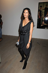 PADMA LAKSHMI at the Quintessentailly Summer Party at the Phillips de Pury Gallery, 9 Howick Place, London on 9th July 2008.<br /><br />NON EXCLUSIVE - WORLD RIGHTS