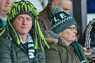Plymouth fans before the EFL Sky Bet League 1 match between Luton Town and Plymouth Argyle at Kenilworth Road, Luton, England on 17 November 2018.