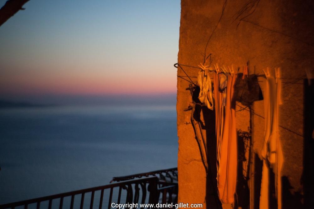 Deambulation en bord de mer le long du Cap Corse entre Nonza et Saint Florent.