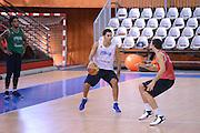 Chamutov 17 Agosto 2012 - qualificazioni Eurobasket 2013 - Allenamento<br /> Nella Foto : PIETRO ARADORI<br /> Foto Ciamillo/Castoria
