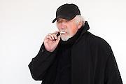Portrait of art critic Dave Hickey in Santa Fe NM on Saturday, Dec. 22, 2012.