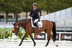 Lee Pearson, (GBR), Zion - Individual Test Grade Ib Para Dressage - Alltech FEI World Equestrian Games™ 2014 - Normandy, France.<br /> © Hippo Foto Team - Jon Stroud <br /> 25/06/14