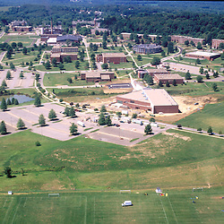 Aerial view of Slippery Rock university
