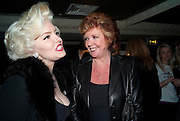 SUZIE KENNEDY; CILLA BLACK, Teens;)Unite Fighting Cancer charity art auction. The Embassy Club. 6 April 2010