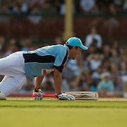 Braith Anasta is dismissed during Australia's Big Bash Cricket match to raise money for the Victorian Bushfire Appeal at the Sydney Cricket Ground, Sydney, Australia on February 22, 2009. The match was attended by over 20,000 spectators. Photo Tim Clayton