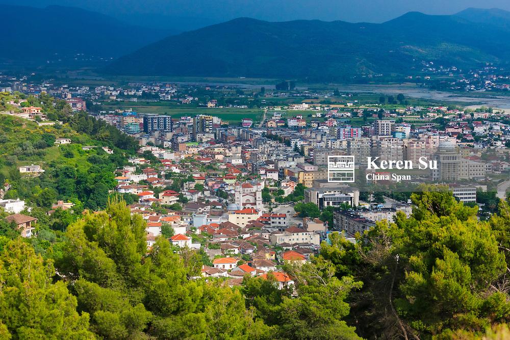 Berat old town, UNESCO World Heritage site, Albania
