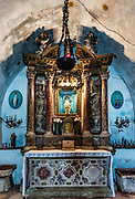 Interior alter, Our Lady of Remedy, Kotor, Montenegro