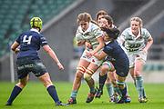 Twickenham, Surrey. UK.  during the 2017 Women's Varsity Rugby Match, Oxford vs Cambridge Universities. RFU Stadium, Twickenham. Surrey, England.<br /> <br /> Thursday  07.12.17  <br /> <br /> [Mandatory Credit Peter SPURRIER/Intersport Images]