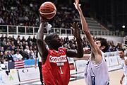 TRENTO 15 NOVEMBRE  2015<br /> Basket campionato serie A12013/2014<br /> Dolomiti Energia Trento Openjobmetis Varese<br /> Nella Foto Mouhammad Faye Openjobmetis Varese<br /> Foto Ciamillo