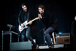 June 17, 2018 - Landgraaf, Limburg, Netherlands - Editors performing live at Pinkpop Festival 2018 in Landgraaf, Netherlands, on 17 June 2018. (Credit Image: © Roberto Finizio/NurPhoto via ZUMA Press)