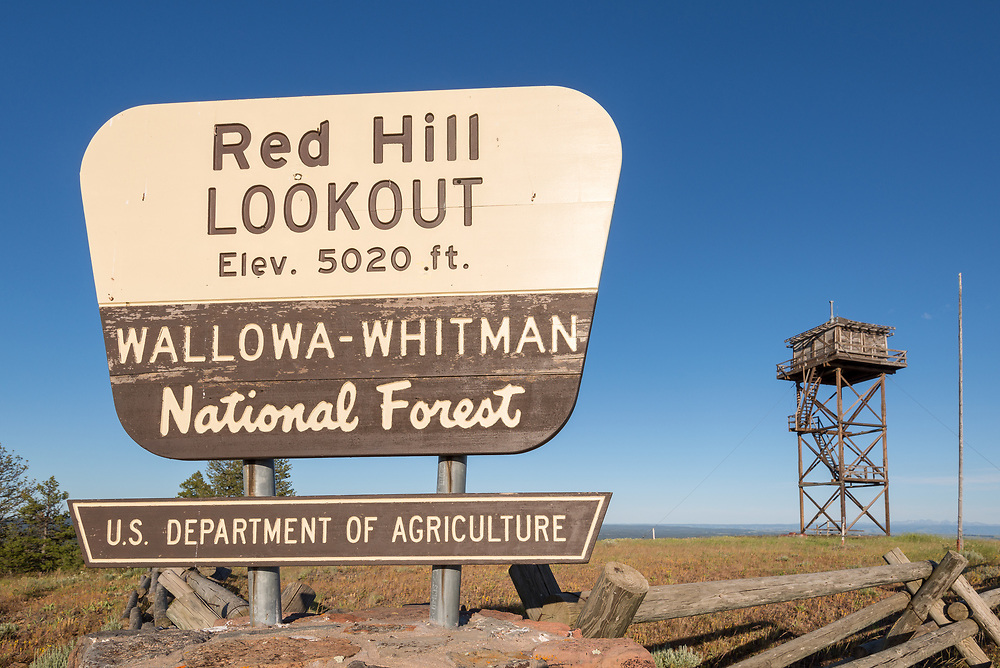 Red Hill Lookout, Wallowa - Whitman National Forest, Oregon.