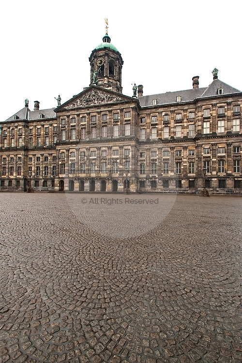 The Royal Palace Dam Square in Amsterdam.