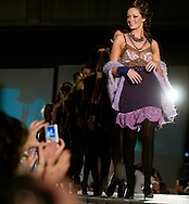 Omaha, NEB 9/19/09.Models show off the Megan Myers collection...Chris Machian/The World-Herald