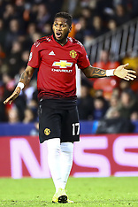 Valencia v Manchester United 13 Dec 2018