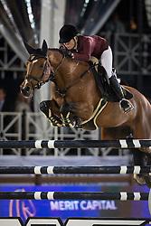 Alexander Edwina, (AUS), Lintea Tequila<br /> Grand Prix CSI 5*<br /> Longines Global Champions Tour - Antwerp 2015<br />  © Hippo Foto - Dirk Caremans<br /> 25/04/15