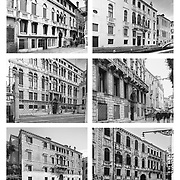 """Venice, Italy, Veneto : Comparison of the Venice Palace  """"Urban Space and Typologies"""" -  Venice urban studies 2013-2018. Photographs by Alejandro Sala   Visit Shop Images to purchase and download a digital file and explore other Alejandro-Sala images…"""