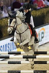 Calaque Jade Fleur, FRA, Ghost Rider<br /> Jumping Mechelen 2017<br /> © Sharon Vandeput<br /> 28/12/17