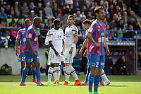 Samuel UMTITI / Maxime GONALONS - 09.05.2015 -  Caen / Lyon  - 36eme journee de Ligue 1<br />
