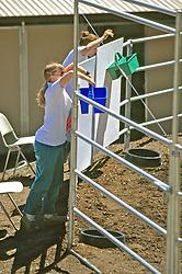 Barbara Linsley & Sarah Borrey Working Trial, Choosing Colored Buckets